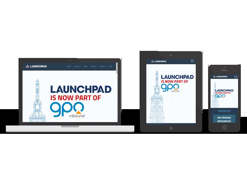 Launchpad Web Services responsive | Twelve31 Media