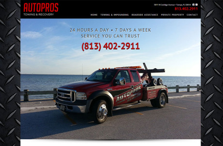 Autopros Towing & Recovery - Tampa, FL | Twelve31 Media