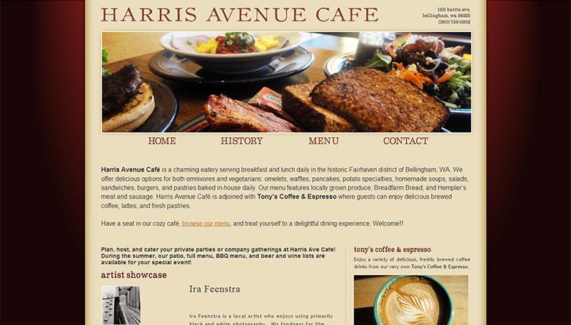Harris Avenue Cafe   Twelve31 Media