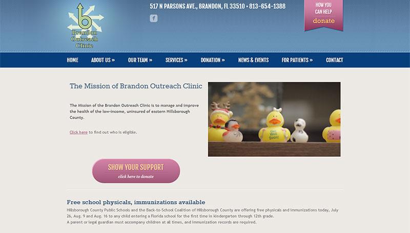 Brandon Outreach Clinic | Twelve31 Media