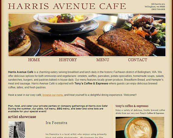 Harris Avenue Cafe | Twelve31 Media